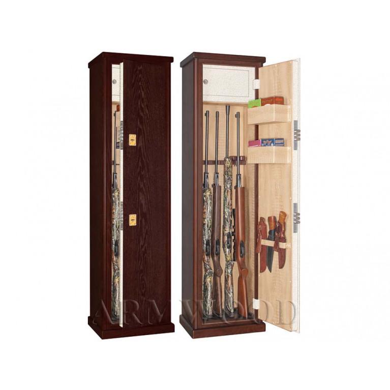 Оружейный сейф в дереве Armwood 55.074 LUX